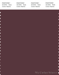 PANTONE SMART 19-1623X Color Swatch Card, Vineyard Wine