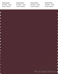 PANTONE SMART 19-1627X Color Swatch Card, Port Royale