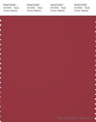 PANTONE SMART 19-1655X Color Swatch Card, Garnet