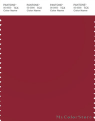 PANTONE SMART 19-1656X Color Swatch Card, Rio Red