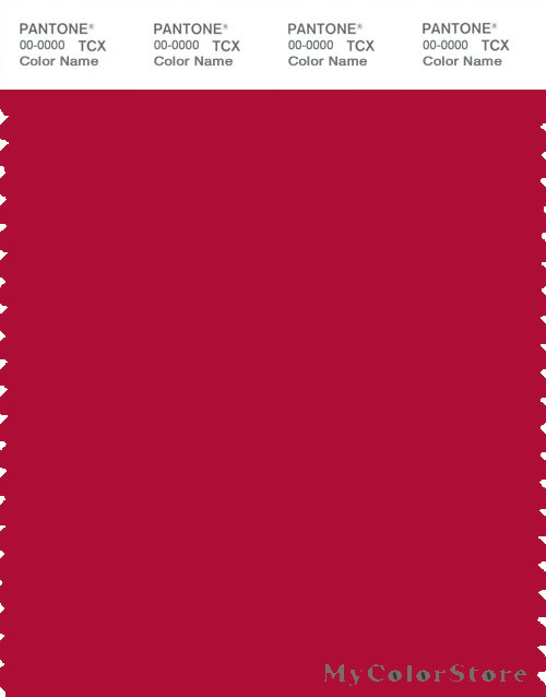 Pantone Smart 19 1762 Tcx Color Swatch Card Pantone Crimson