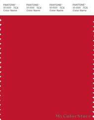 PANTONE SMART 19-1763X Color Swatch Card, Formula One