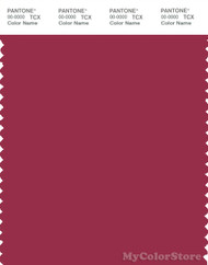 PANTONE SMART 19-1850X Color Swatch Card, Red Bud