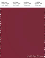 PANTONE SMART 19-1934X Color Swatch Card, Tibetan Red