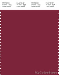 PANTONE SMART 19-1940X Color Swatch Card, Rumba Red