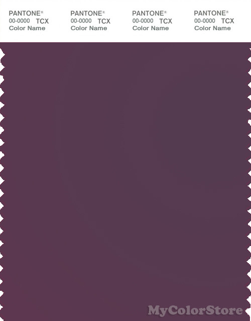 Pantone Smart 19 2009 Tcx Color Swatch Card Pantone Hortensia - Color-hortensia