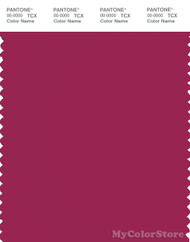 PANTONE SMART 19-2047X Color Swatch Card, Sangria