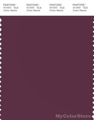 PANTONE SMART 19-2315X Color Swatch Card, Grape Wine