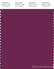 PANTONE SMART 19-2428X Color Swatch Card, Magenta Purple