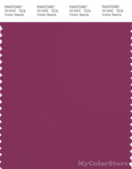 PANTONE SMART 19-2431X Color Swatch Card, Boysenberry