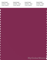 PANTONE SMART 19-2432X Color Swatch Card, Raspberry Radience