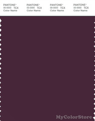 PANTONE SMART 19-2520X Color Swatch Card, Potent Purple