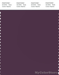 PANTONE SMART 19-2816X Color Swatch Card, Blackberry Wine
