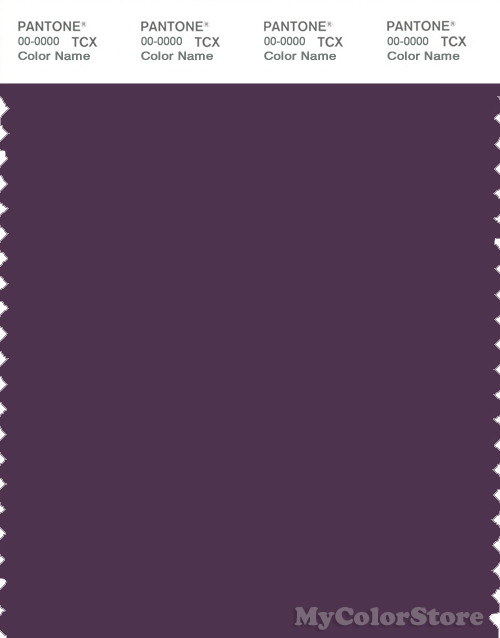 PANTONE SMART 19-3217X Color Swatch Card, Shadow Purple