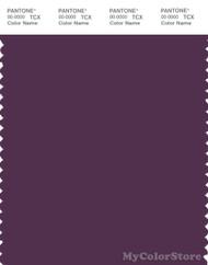 PANTONE SMART 19-3218X Color Swatch Card, Plum Purple