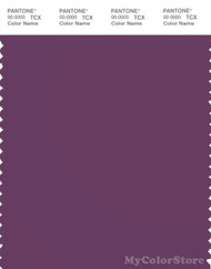 PANTONE SMART 19-3223X Color Swatch Card, Purple Passion
