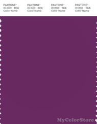 PANTONE SMART 19-3230X Color Swatch Card, Grape Juice