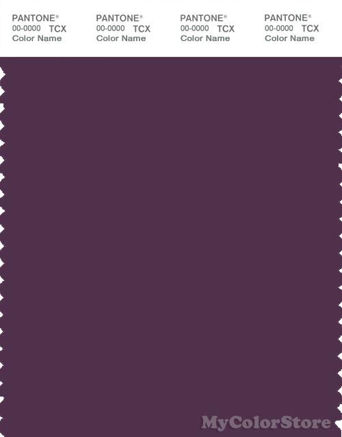PANTONE SMART 19-3323X Color Swatch Card, Deep Purple