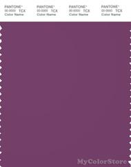 PANTONE SMART 19-3325X Color Swatch Card, Wood Violet