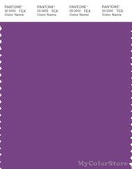 PANTONE SMART 19-3424X Color Swatch Card, Sunset Purple