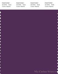 PANTONE SMART 19-3518X Color Swatch Card, Grape Royale