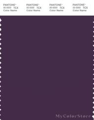 PANTONE SMART 19-3519X Color Swatch Card, Purple Pennant