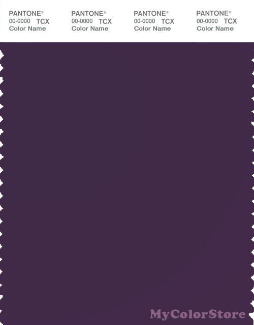 PANTONE SMART 19-3520X Color Swatch Card, Blackberry Cordial