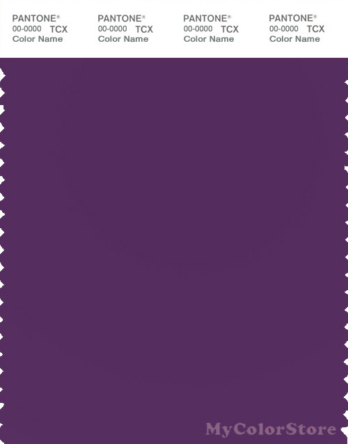 PANTONE SMART 19-3528X Color Swatch Card, Imperial Purple