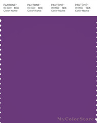 PANTONE SMART 19-3536X Color Swatch Card, Amaranth Purple