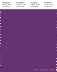 PANTONE SMART 19-3540X Color Swatch Card, Purple Magic