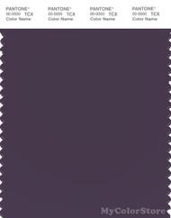 PANTONE SMART 19-3617X Color Swatch Card, Mysterioso