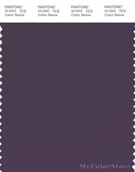 PANTONE SMART 19-3619X Color Swatch Card, Sweet Grape