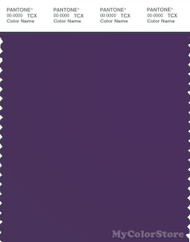 PANTONE SMART 19-3628X Color Swatch Card, Acai