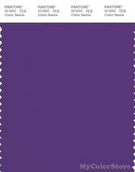 PANTONE SMART 19-3638X Color Swatch Card, Tillandsia Purple