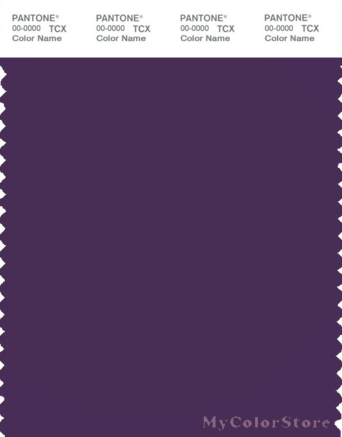 PANTONE SMART 19-3640X Color Swatch Card, Crown Jewel