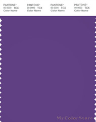 PANTONE SMART 19-3642X Color Swatch Card, Royal Purple