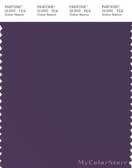 PANTONE SMART 19-3716X Color Swatch Card, Purple Plumeria
