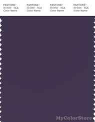 PANTONE SMART 19-3725X Color Swatch Card, Purple Velvet