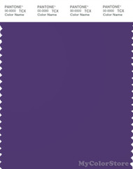 PANTONE SMART 19-3737X Color Swatch Card, Heliotrope