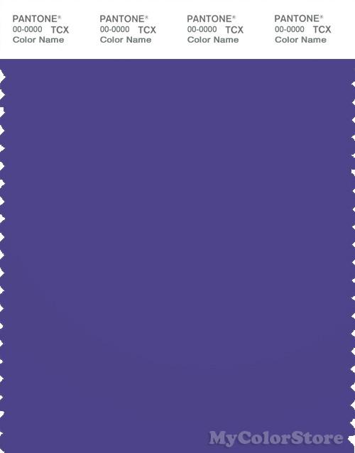 PANTONE SMART 19-3850X Color Swatch Card, Liberty