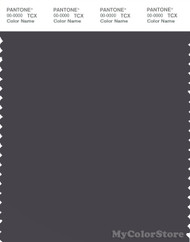 PANTONE SMART 19-3908X Color Swatch Card, Nine Iron