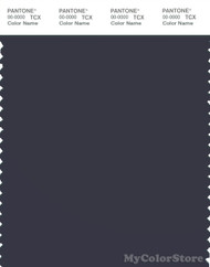 PANTONE SMART 19-3924X Color Swatch Card, Night Sky