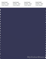 PANTONE SMART 19-3925X Color Swatch Card, Patriot Blue