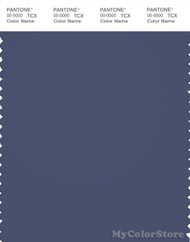 PANTONE SMART 19-3928X Color Swatch Card, Blue Indigo