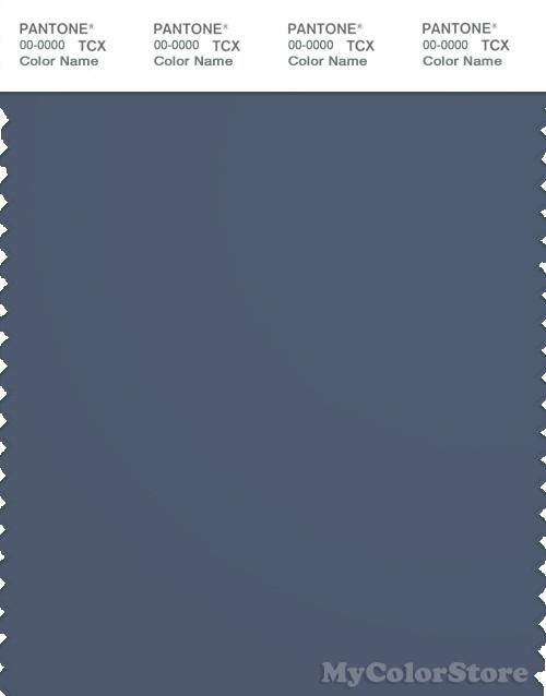 PANTONE SMART 19-3929X Color Swatch Card, Vintage Indigo