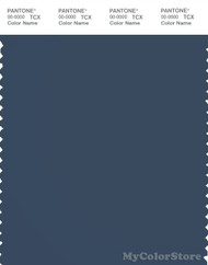 PANTONE SMART 19-4121X Color Swatch Card, Blue Wing Teal