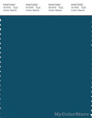 PANTONE SMART 19-4241X Color Swatch Card, Morrocan Blue