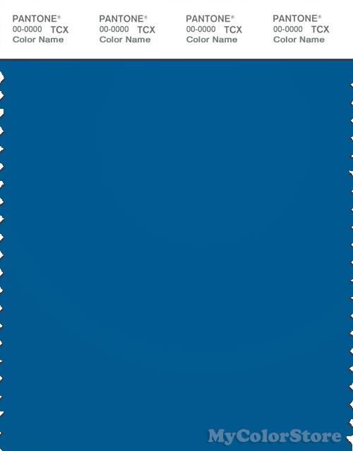PANTONE SMART 19-4245X Color Swatch Card, Imperial Blue