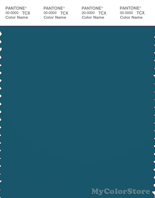 PANTONE SMART 19-4329 TCX Color Swatch Card, Corsair