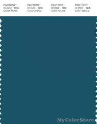 PANTONE SMART 19-4526X Color Swatch Card, Blue Coral